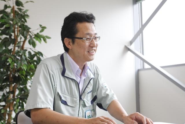 企画室 室長 兼 監査部 部長の荒賀誠氏